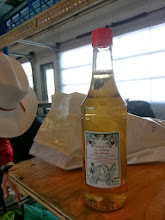 Photo: Barney figures he has an abscess tooth. Alberts daughter Natalie finds Barney some apple cider vinegar to home remedy the infection - it worked!!