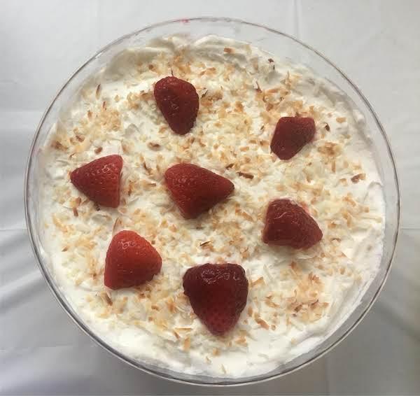 Strawberry Coconut Trifle Recipe