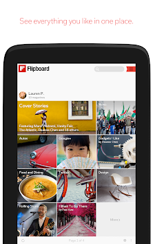 Flipboard APK screenshot thumbnail 7