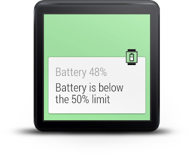 Wear Battery Stats Screenshot