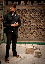 Photo: Dan in Bou Inania Madrasa  http://en.wikipedia.org/wiki/Bou_Inania_Madrasa