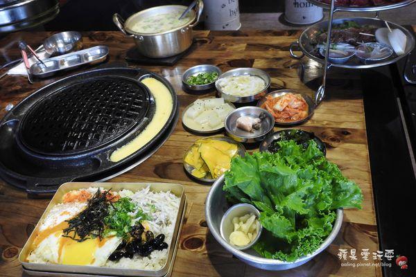 美味份量足,小菜,烤蛋吃到飽~【韓哆路韓式燒肉】