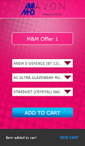 MHD-Avon Ordering App screenshot 5