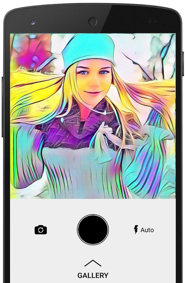 Screenshots of ArtistA Cartoon & Sketch Cam for iPhone