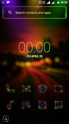 color stars theme & iconpack screenshot 3