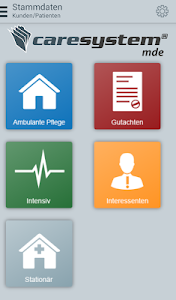 caresystem mde screenshot 2