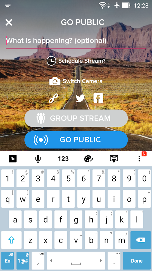 Livit - go live now- screenshot