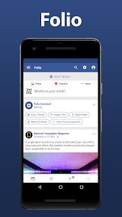 Folio 2 for Facebook & Messenger мод