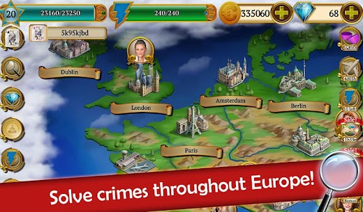 Hidden Objects: Mystery Society Crime Solving 7