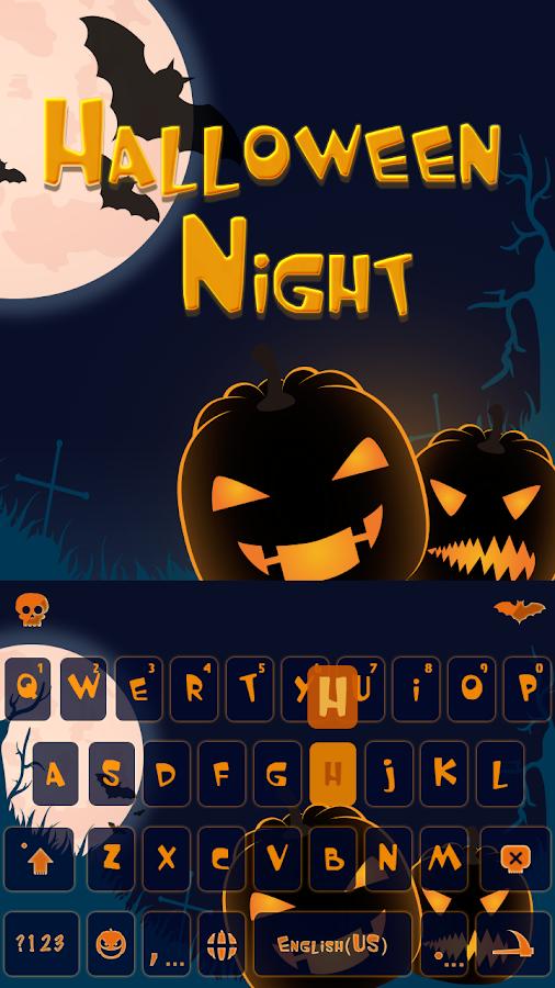 Halloween-Night-Keyboard-Theme 6