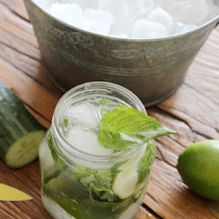 Basil Cucumber Mojito