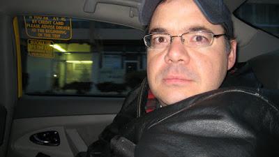 Alex in cab