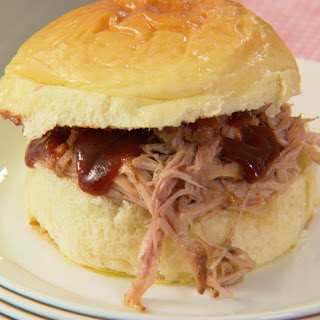 Slow-cooked Pulled Pork.