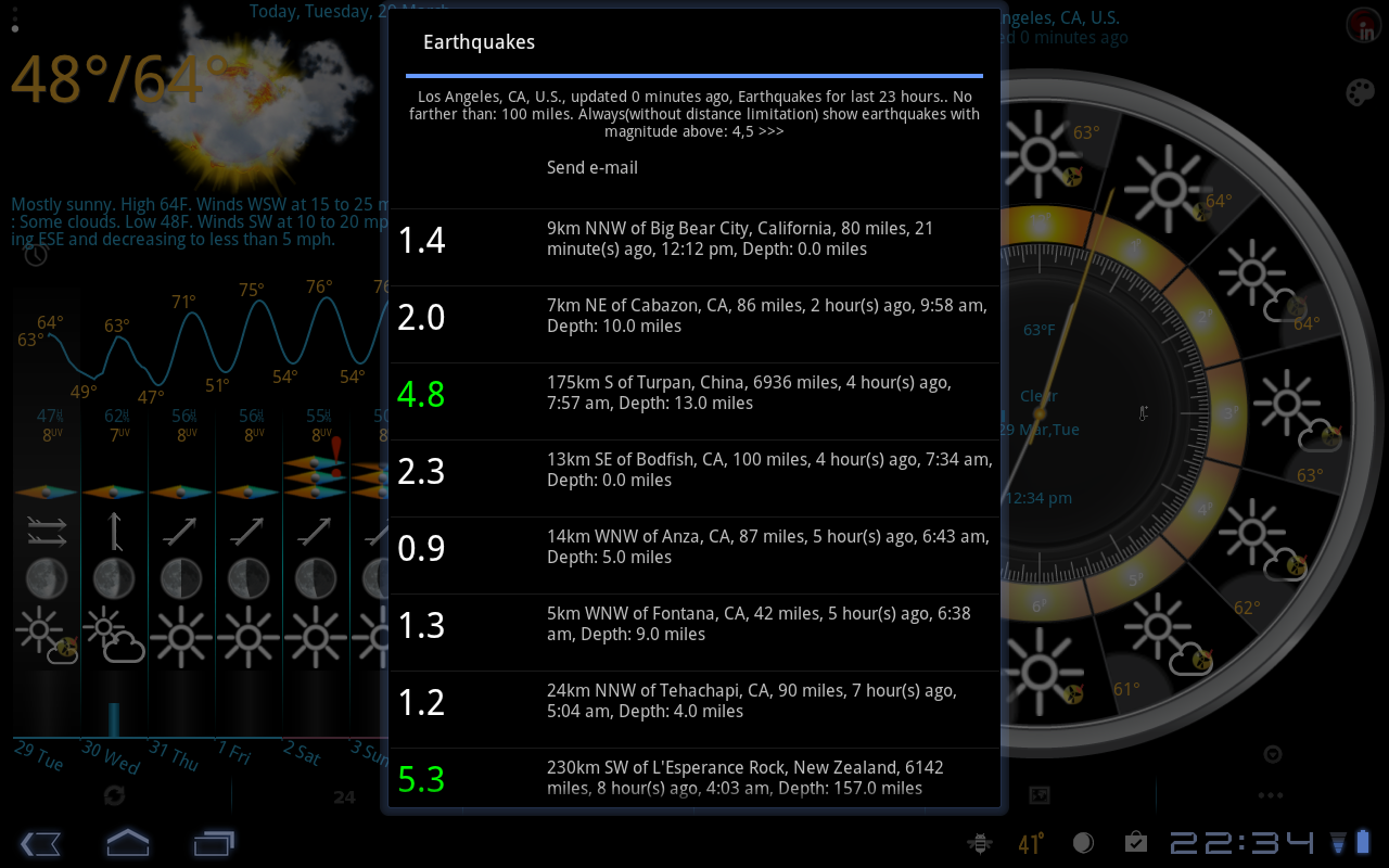 eWeather HD with Future Radar- screenshot