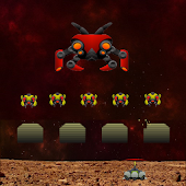 Invaders Mars Defender - Fast Action Space shooter