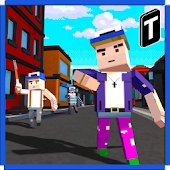 Blocky Neighbor Hero 3D