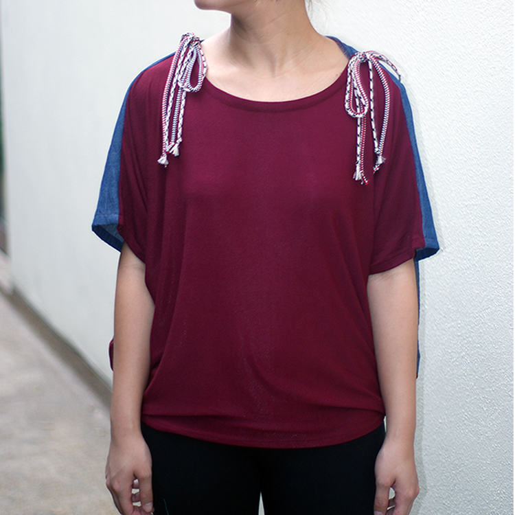 Edie Loose Top Red by STH Creative S/B