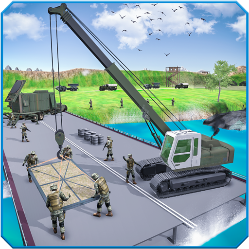 US Army Bridge Construction Simulator Game for PC