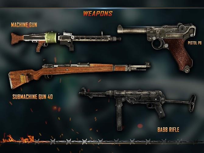 WW2 Survival War Prisoner : FPS Shooting Game Android 10