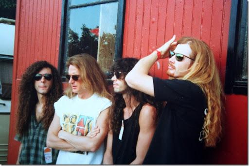 Megadeth Roskilde 1992
