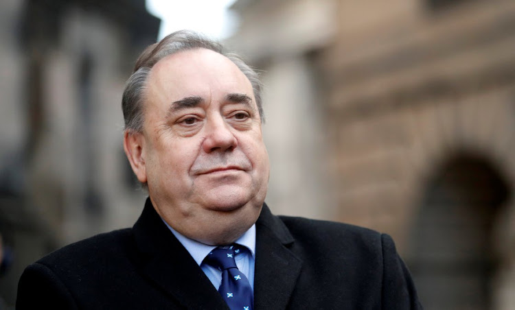 Former first minister of Scotland Alex Salmond at the Court of Session in Edinburgh, Scotland, Britain on January 8 2019. Picture: REUTERS/RUSSELL CHEYNE