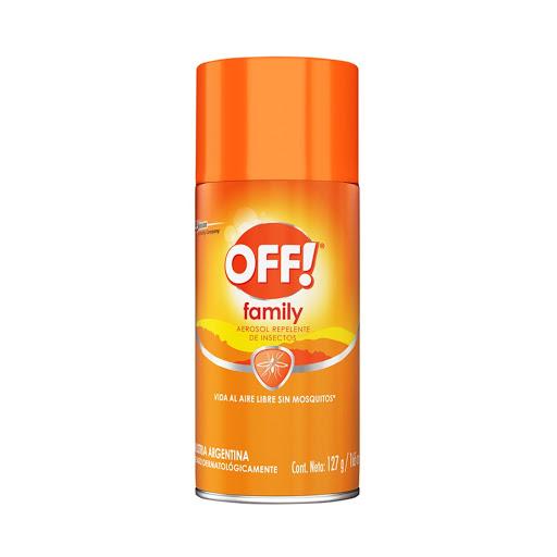 repelente off aerosol family 165ml