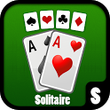 Solitaire card game icon