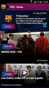 FCB Connect - FC Barcelona- screenshot thumbnail