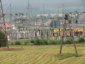 Photo: Rozdzielnia energetyczna koło Wałbrzycha