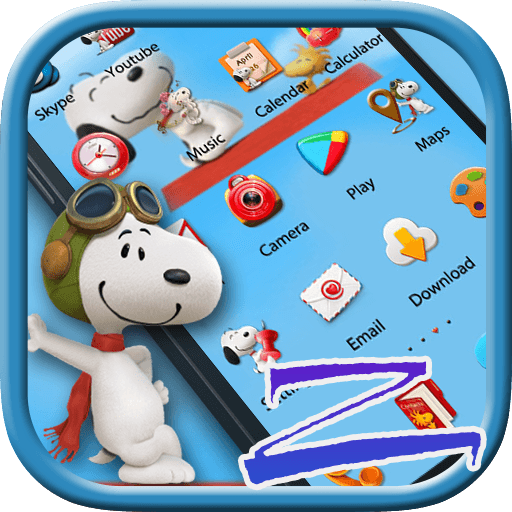 Hey Snoopy - Zero Launcher