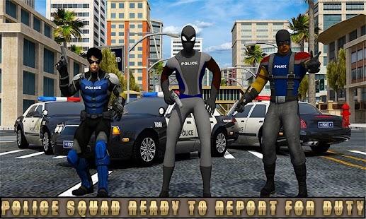 Super policejní hrdinové: City Supermarket Rescue - náhled