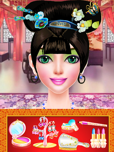 Chinese Doll Makeup - Fashion Doll Makeover Salon android2mod screenshots 2