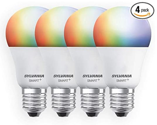Smart+ Wi-Fi Full Color Dimmable A19 LED Lights