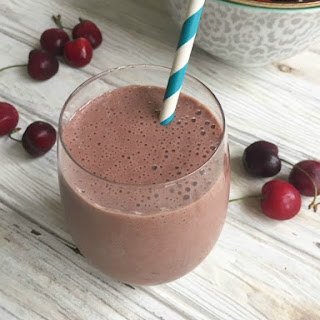 Dark Chocolate Cherry Smoothie