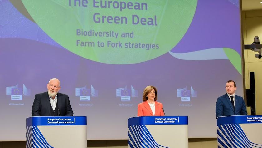Presentación estrategias Pacto Verde.