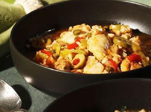 One-dish Chicken And Rice (asopao De Pollo) Recipe