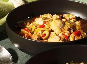 One-dish Chicken And Rice (asopao De Pollo)