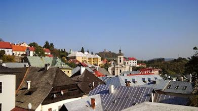 Photo: Pohľad na Banskú Štiavnicu