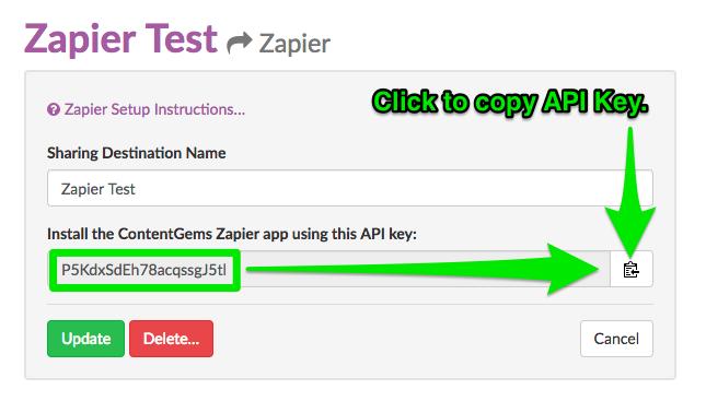 1 - Get API Key