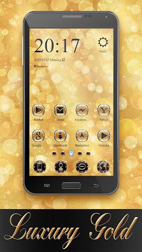 Luxury Gold ZERO Launcher