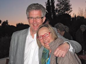 Photo: Choir member Roberta Hardy with her husband Thomas