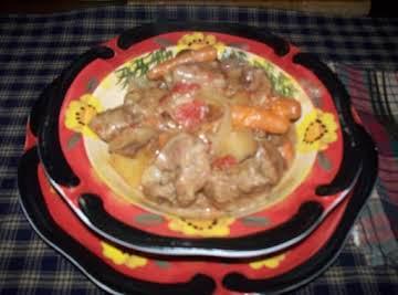 Crockpot Swiss Steak Dinner