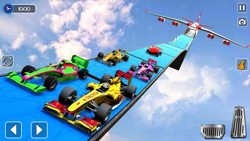 Code Triche Formula Sports Car Racer Impossible Tracks APK MOD (Astuce) screenshots 1