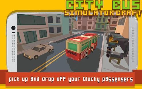 City Bus Simulator Craft- screenshot thumbnail