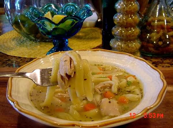 Bonnie's  Grandma's Chicken Noodle Soup