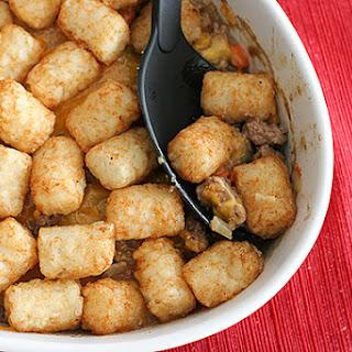 Potato Tot-Topped Shepherd'S Pie Recipe