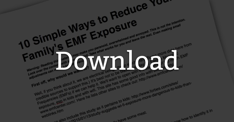 How to reduce your EMF exposure (and why you want to)