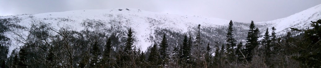 Photo: View of the Snowfields and . . . what is that in the center of the picture?