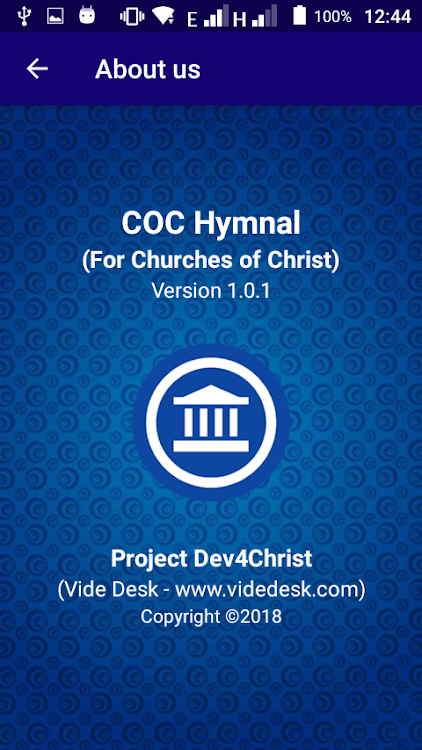 COC Hymnals – (Android Apps) — AppAgg