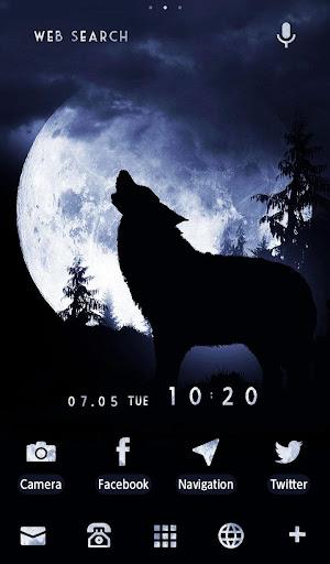 Moonlight Wolf Wallpaper 1.0.1 Windows u7528 5